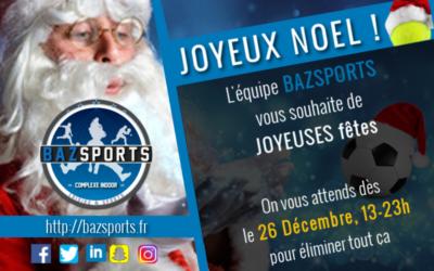 [NOEL] Bazsports vous souhaite à tous un joyeux Noël