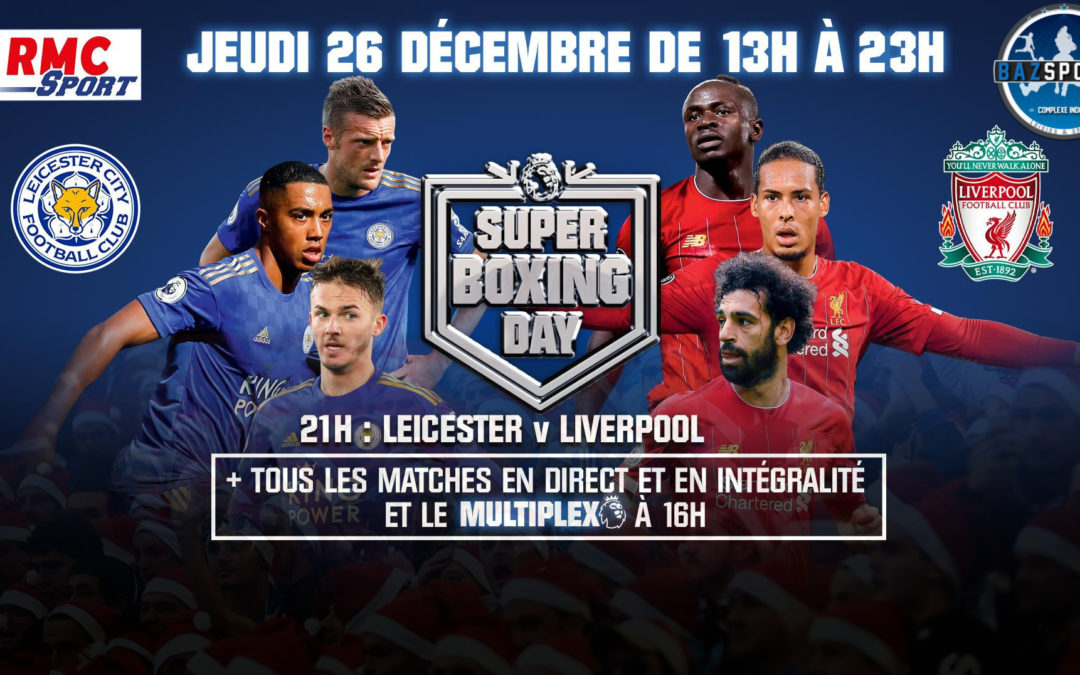 [BOXING DAY] Football Anglais pendant les fêtes