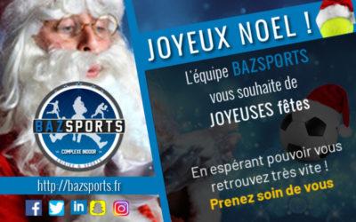 [NOEL 2020] Bazsports vous souhaite à tous un joyeux Noël