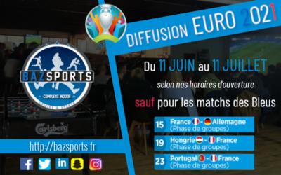 [EURO 2021] Bazsports diffuse les matchs !