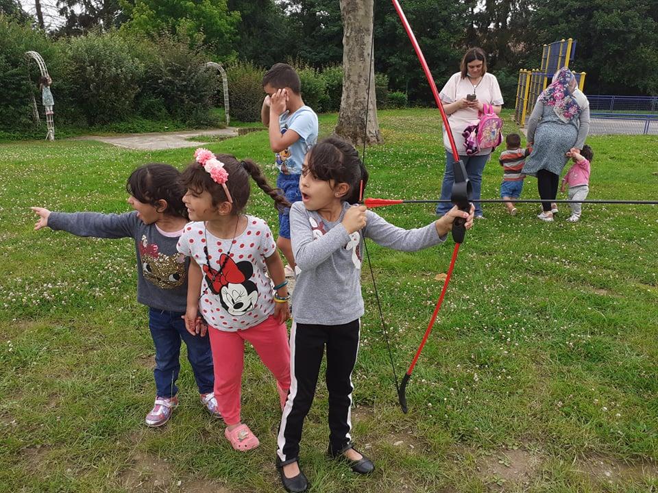 archery tag tir