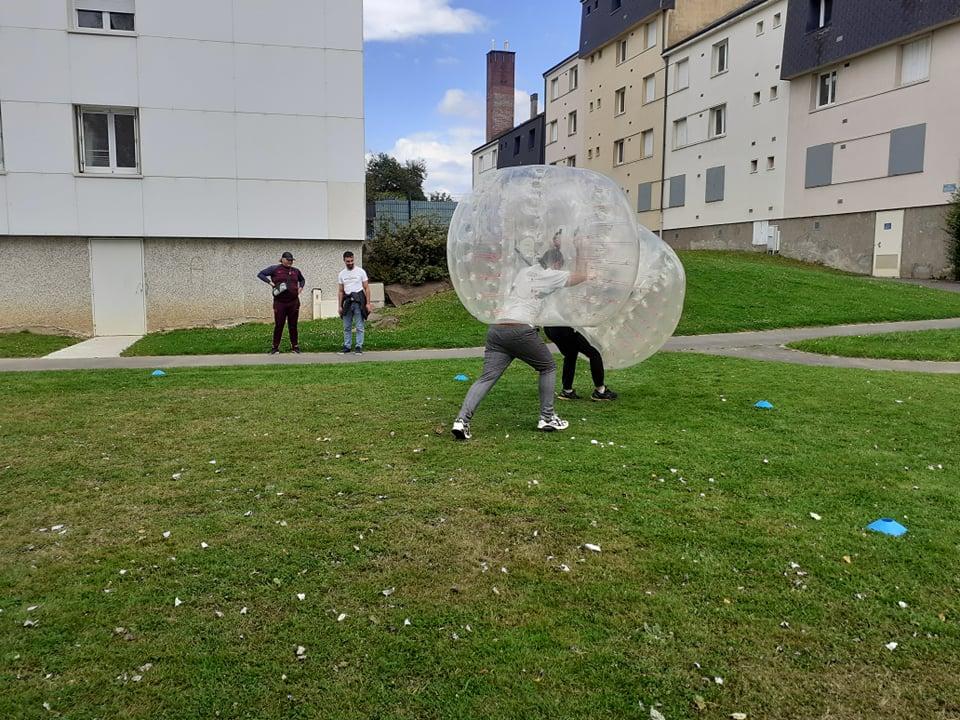 bubble fight